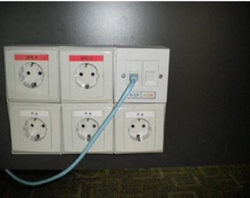 OUTLET DATA & POWER